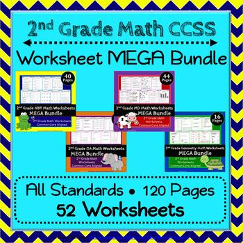2nd Grade Math Worksheets 2nd Grade Common Core Math Worksheets