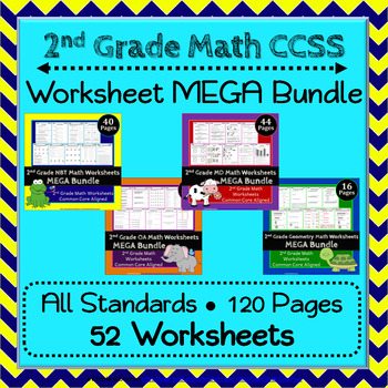 2nd Grade Math Worksheets: 2nd Grade Common Core Math Worksheets ...