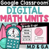 2nd Grade Math for Google Classroom Money Shapes Time Graphs