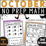 2nd Grade Math for October