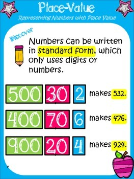 Math in Focus, 2nd Grade (Ch. 1, Lesson 2) - Place Value: Center Activity
