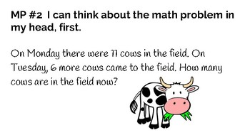 2nd Grade Mathematical Practice Problems