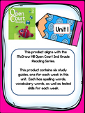 2nd Grade McGraw Hill Open Court Unit 1 Weekly Study Guides