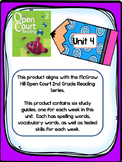 2nd Grade McGraw Hill Open Court Unit 4 Weekly Study Guides