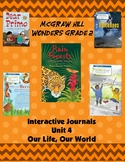 2nd Grade McGraw Hill Wonders Interactive Notebook Unit 4