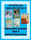 2nd Grade McGraw Hill Wonders Interactive Notebook Unit 2