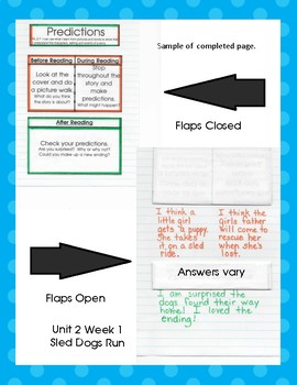 2nd Grade McGraw Hill Wonders Interactive Notebook Unit 2