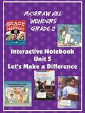 2nd Grade McGraw Hill Wonders Interactive Notebook Unit 5
