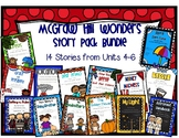 2nd Grade McGraw Hill Wonders Story Pack Bundle Units 4-6