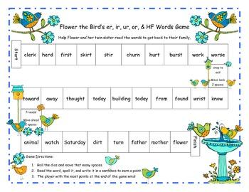 Wonders McGraw Hill 2nd Grade Unit 4 Spelling & Phonics Games (RF.2.3, LCCR.2)
