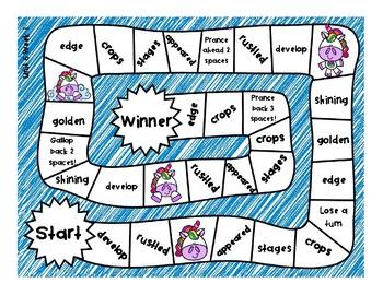 2nd Grade McGraw Hill Wonders Vocabulary Games Unit 6