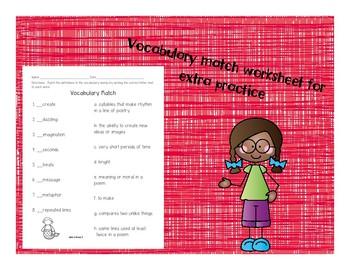 2nd Grade McGraw Hill Wonders Vocabulary Packet Unit 6