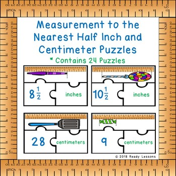Measuring Inches And Centimeters Worksheets Teaching Resources