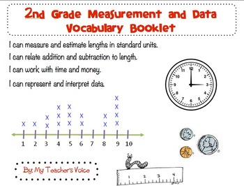2nd Grade Measurement & Data Vocabulary Booklet