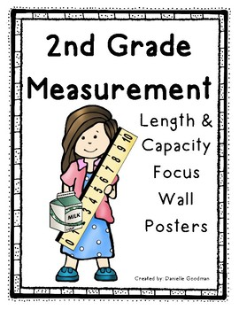 2nd Grade Measurement Focus Wall Posters