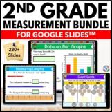 2nd Grade Measurement Google Classroom Distance Learning Bundle
