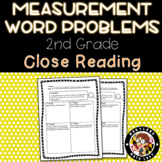 2nd Grade Measurement Word Problems - Close Reading!