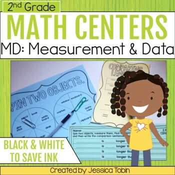 Measurement and Data- 2nd Grade Math Centers
