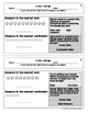 2nd Grade Measurement and Data Exit Slip Assessment Pack C
