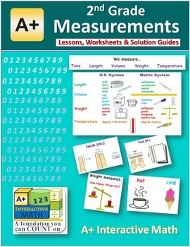 2nd Grade Measurements Lessons, Worksheets, Solution Manuals