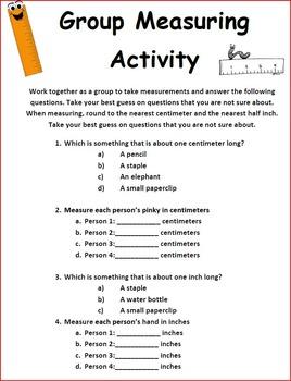 2nd Grade Measuring