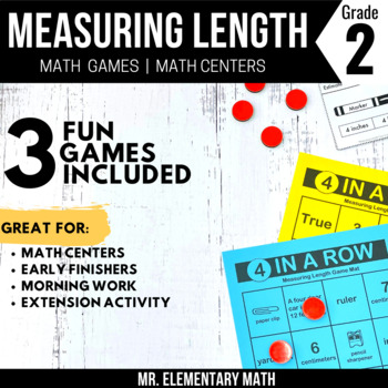 Measuring Games and Centers 2nd Grade
