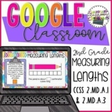 2nd Grade Measuring Length for Google Classroom™ Distance Learning