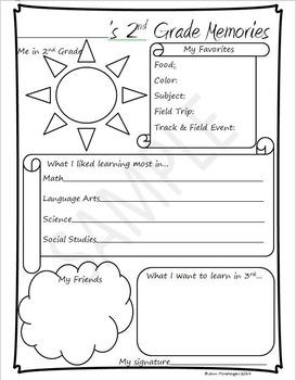 2nd Grade Memories