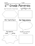 2nd Grade Memories - End of the Year