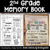 2nd Grade Memory Book- 2nd Grade End of the Year Flipbook