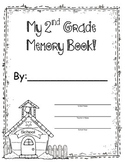 2nd Grade Memory Book - End of the Year