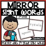 2nd Grade Mirror Sight Words Center