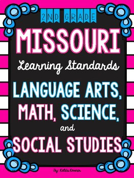 2nd Grade Missouri Learning Standards