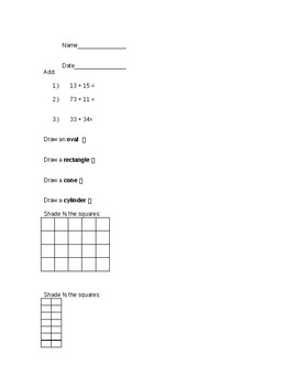 2nd Grade Mixed Review Packet