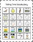 2nd Grade Modified Telling Time Unit (Picture Symbol Supports)