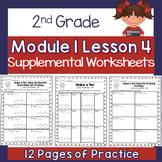 2nd Grade Module 1 Lesson 4 Supplemental Worksheets - Make Ten