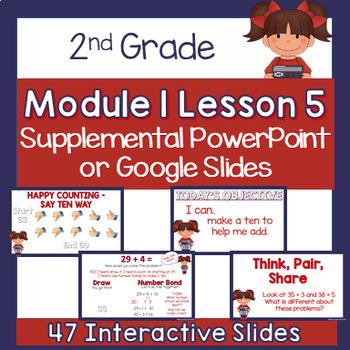 2nd Grade Module 1 Lesson 5 Supplemental PowerPoint - Making a Ten