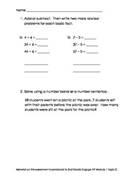 2nd Grade Module 1 Topic C Assessment
