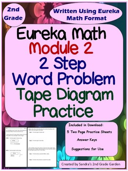 2nd Grade Module 2 Eureka Math 2 Step Word Problems with T