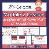 2nd Grade Module 2 Lesson 1 Supplemental PowerPoint - Meas