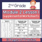 2nd Grade Module 2 Lesson 1 Supplemental Worksheets - Cent