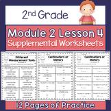 2nd Grade Module 2 Lesson 4 Supplemental Worksheets - Cent