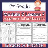2nd Grade Module 2 Lesson 7 Supplemental Worksheets - Meas