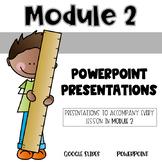 2nd Grade Module 2 Lesson Presentations for Eureka Math