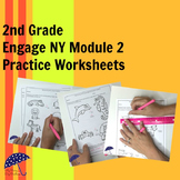 Measurement Worksheets Aligned to Engage New York Math Module 2