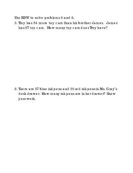 2nd Grade Module 4 Topic B Assessment