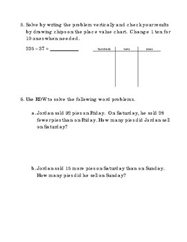 2nd Grade Module 4 Topic C Assessment