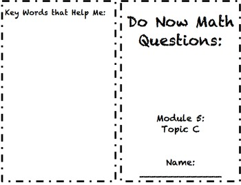 2nd Grade Module 5 Topic C Application Problem Sets5
