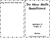 2nd Grade Module 5 Topic C Application Problem Sets5
