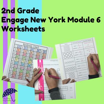 Engage New York Math Aligned Worksheets: Grade 2, Module 6